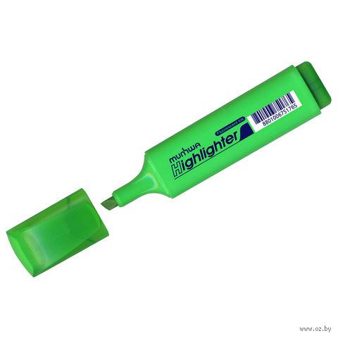 Маркер текстовый (зеленый; 1-5 мм)
