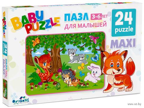 """Пазл """"Baby Puzzle. За грибами"""" (24 элемента) — фото, картинка"""