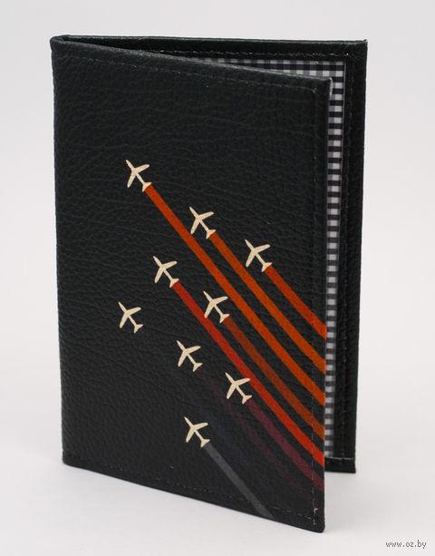 "Обложка на паспорт ""Самолеты"" — фото, картинка"