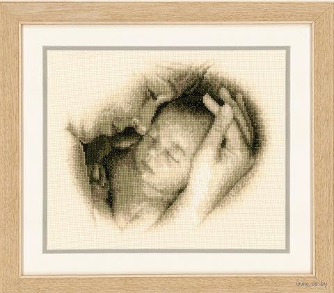 "Вышивка крестом ""Мать и дитя"" (260х210 мм; арт. 0012175-PN) — фото, картинка"