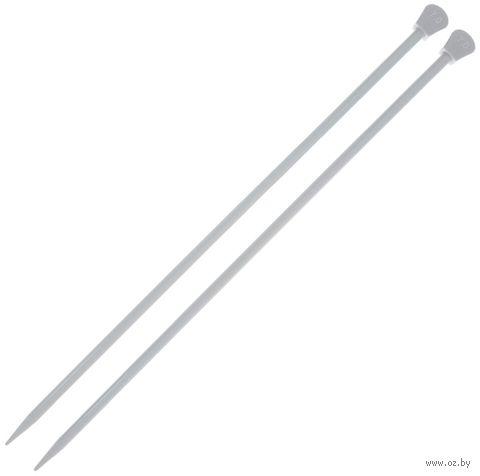 Спицы для вязания (алюминий; 7 мм; 35 см) — фото, картинка