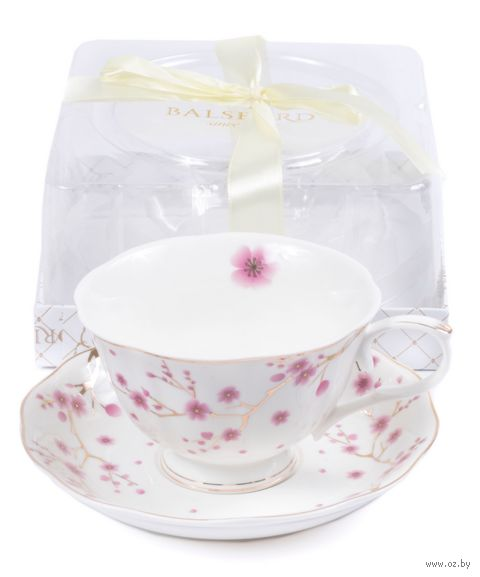 Чашка с блюдцем (арт. 108-04086) — фото, картинка