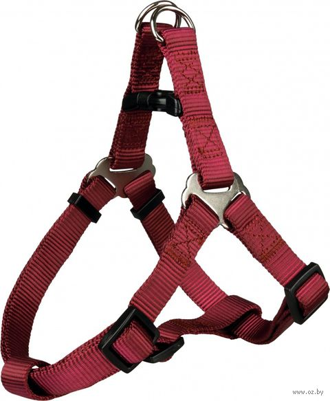 """Шлея для собак """"Premium Harness"""" (размер XS-S, 30-40 см, бордовая)"""