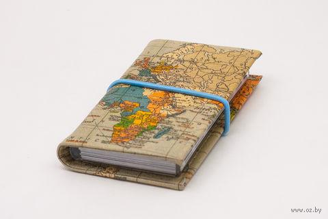 "Визитница ""Карта мира"" — фото, картинка"