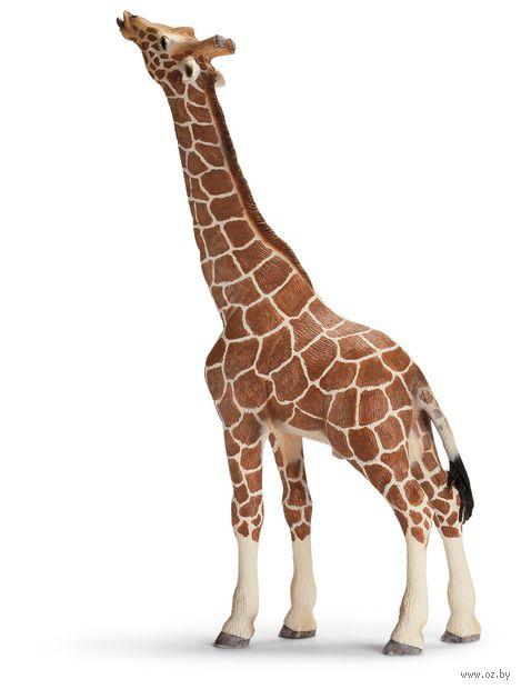 "Фигурка ""Жираф ест"" (17,5 см)"