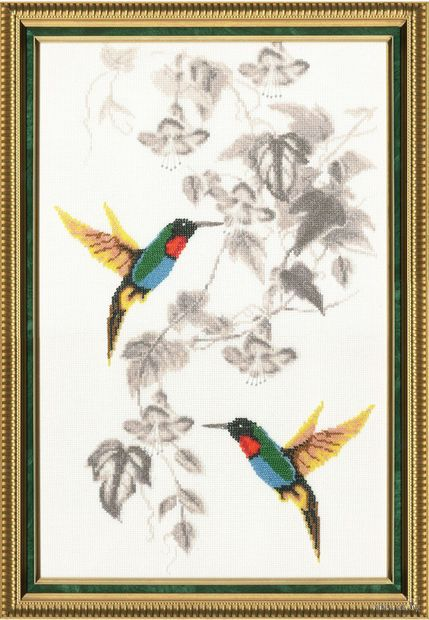 """Вышивка крестом """"Райские птички"""" (арт. РС-016)"""