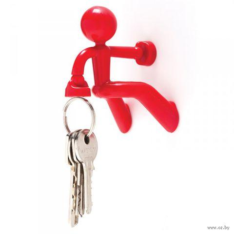 """Держатель для ключей магнитный """"Key Pete"""" (красный)"""