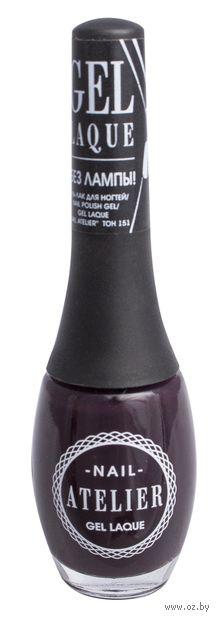 """Гель-лак для ногтей """"Nail Atelier"""" (тон: 151, ягодный ежевичный теплый) — фото, картинка"""
