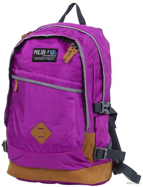 Рюкзак П2104 (20,5 л; фиолетовый) — фото, картинка