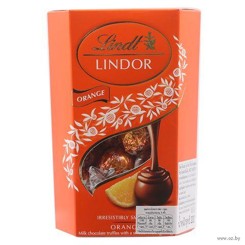 """Конфеты """"Lindor. Апельсин"""" (200 г) — фото, картинка"""