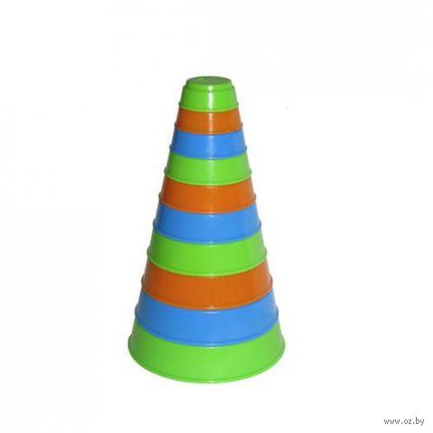 Занимательная пирамидка (10 элементов) — фото, картинка