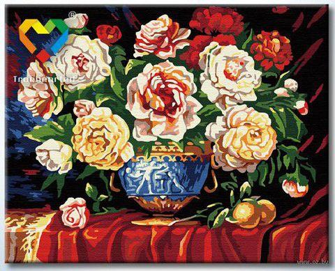 "Картина по номерам ""Многообразие пионов"" (400x500 мм; арт. HB4050004)"