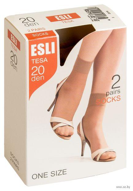 """Носки женские полиамидные """"Esli. Tesa 20"""" (2 пары)"""