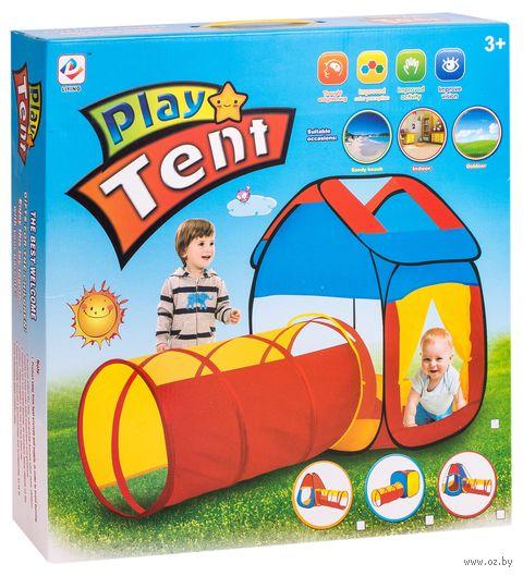 """Детская игровая палатка """"Домик с тоннелем"""" — фото, картинка"""
