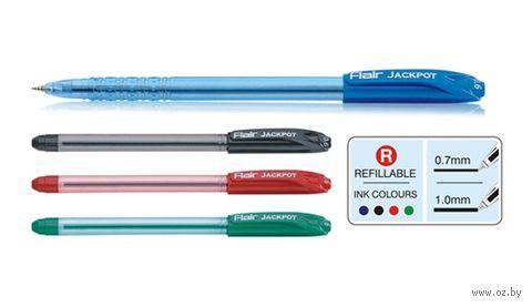 """Ручка шариковая """"Jackpot"""" (черная)"""