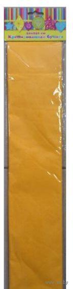 Бумага крепированная (светло-оранжевый)