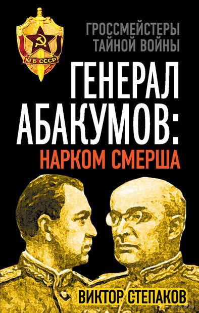 Генерал Абакумов. Нарком СМЕРШа. Виктор Степаков