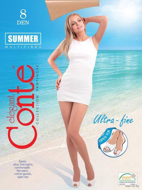 "Колготки женские классические ""Conte. Summer 8 open toe"""
