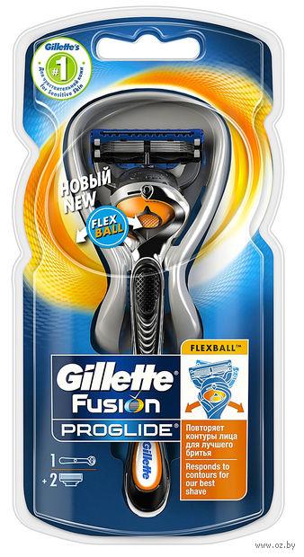 Станок для бритья Gillette Fusion ProGlide FlexBall (+1 кассета)