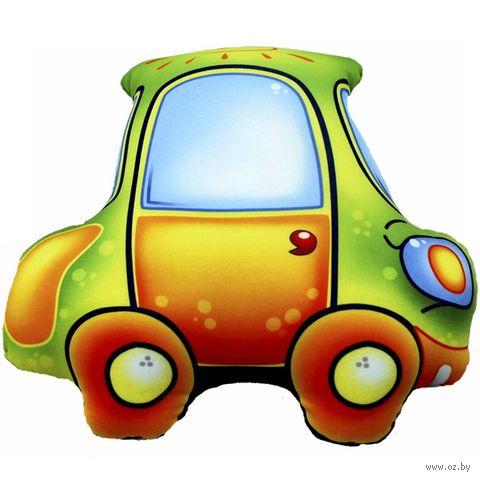 "Игрушка-антистресс ""Машинка"" (29 см; зелёный; арт. Ап12маш01) — фото, картинка"