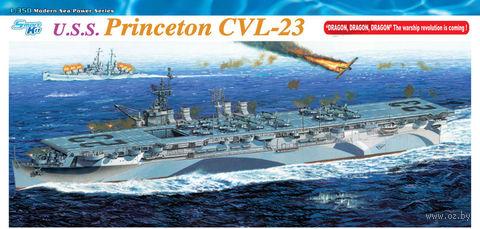 """Авианосец """"U.S.S. Princeton CVL-23"""" (масштаб: 1/350) — фото, картинка"""