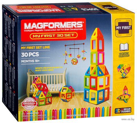 """Конструктор магнитный """"My First Magformers"""" (30 деталей)"""