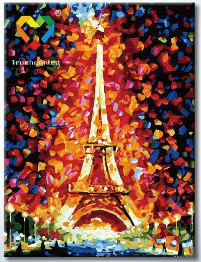"""Картина по номерам """"Эйфелева башня"""" (300x400 мм; арт. HB3040089) — фото, картинка"""