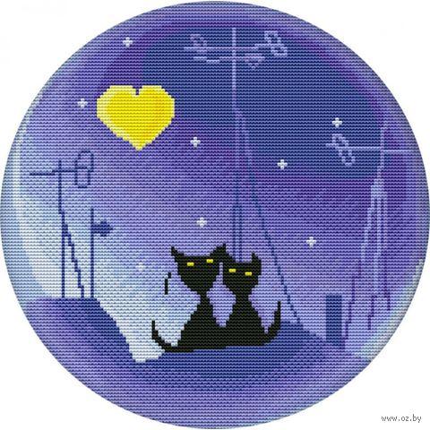 """Вышивка крестом """"Лунная ночь"""""""