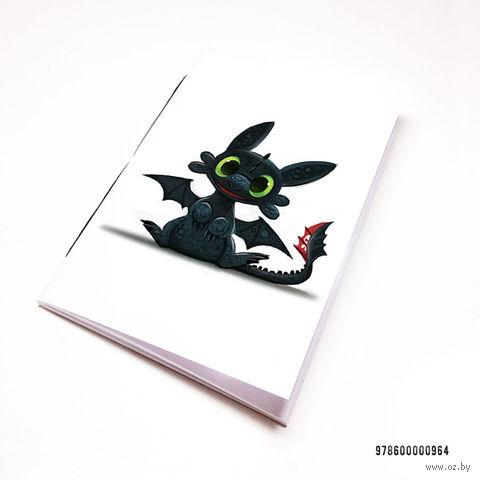 """Блокнот """"Как приручить дракона"""" (А7; арт. 964) — фото, картинка"""