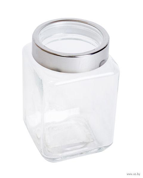 Банка для сыпучих продуктов стеклянная (800 мл; арт. 66224S-3)