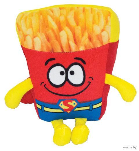 "Мягкая игрушка ""Супер-картошка"" (20 см) — фото, картинка"
