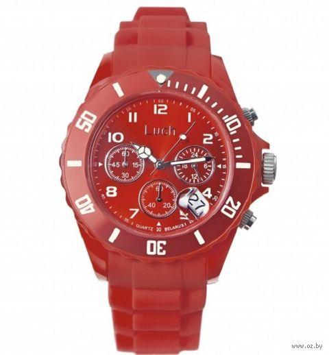 Часы наручные (красные; арт. 728885013) — фото, картинка