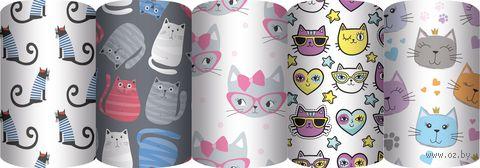 """Бумага упаковочная """"Милые котики"""" (70х100 см; в ассортименте; продается только в розничных магазинах OZ) — фото, картинка"""