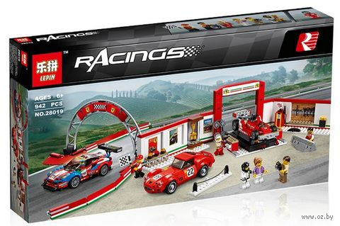 """Конструктор Racings """"Гараж Феррари"""" — фото, картинка"""