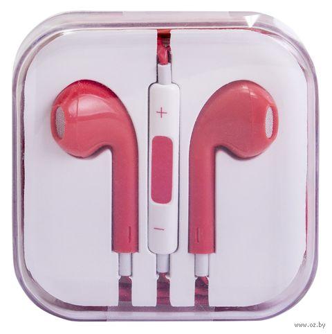 Наушники Biggo BG-E04 для iphone (красные) — фото, картинка