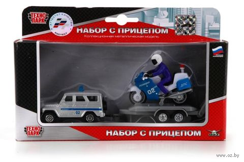 """Игровой набор """"Полицейский УАЗ"""" (арт. SB-16-56WB) — фото, картинка"""