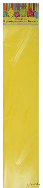 Бумага крепированная (желтый)