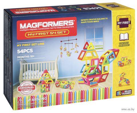 """Конструктор магнитный """"My First Magformers"""" (54 детали)"""