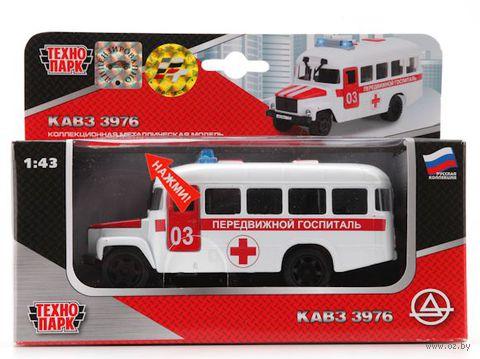 """Модель машины """"КАвЗ. Передвижной госпиталь"""" (масштаб: 1/43)"""