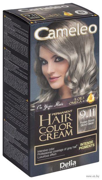 """Крем-краска для волос """"Cameleo"""" (тон: 9.11, морозный блондин) — фото, картинка"""
