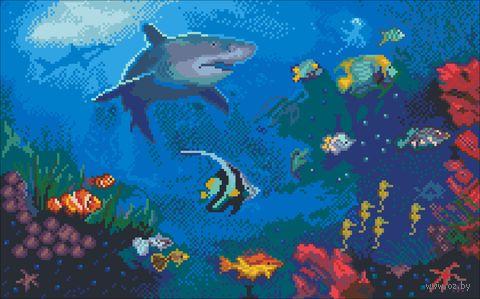 """Вышивка крестом """"Акулий рай"""" (240х380 мм) — фото, картинка"""