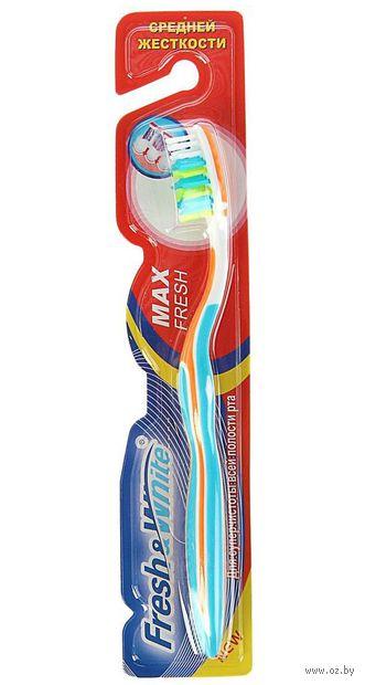 """Зубная щетка """"Max fresh"""" (средней жесткости) — фото, картинка"""