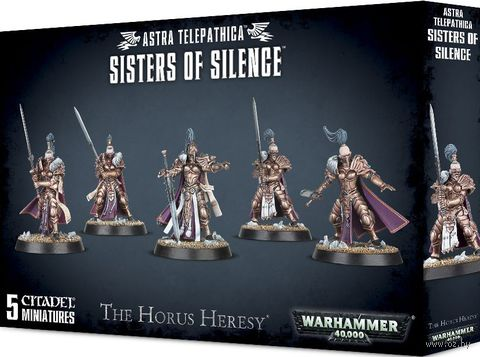 Warhammer 40.000. Astra Telepathica. Sisters of Silence (01-08) — фото, картинка