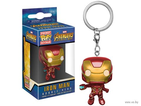 "Брелок ""Marvel. Iron Man"" — фото, картинка"