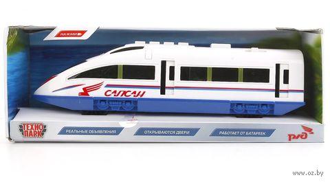 """Модель машины """"Скоростной поезд Сапсан"""" (со световыми и звуковыми эффектами) — фото, картинка"""