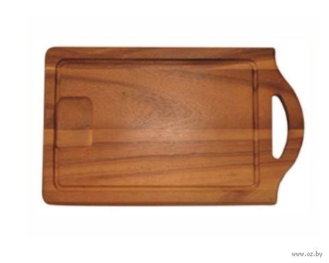 Доска разделочная деревянная (250х450х20 мм; арт. 9/780) — фото, картинка