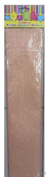 Бумага крепированная перламутровая (оранжевый)