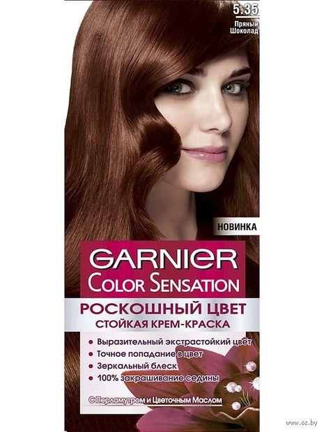 Крем-краска для волос (тон: 5.35, пряный шоколад)