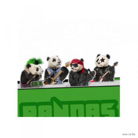 """Набор магнитных закладок """"Pandas Rock"""""""