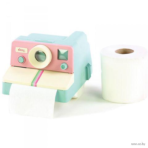 """Держатель для туалетной бумаги """"Polaroll"""" (розовый, мятный)"""